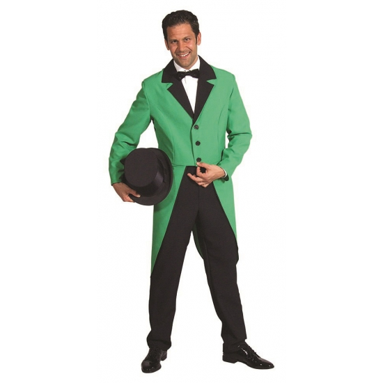 8f1d3a98a666b0 Groene carnavalskleding slipjas bij Kostuum Voordeel altijd het ...